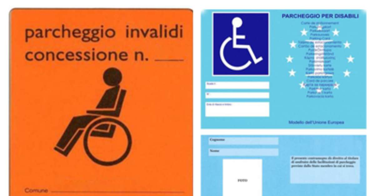 Posto disabile occupato senza titolo?Ora Basta!