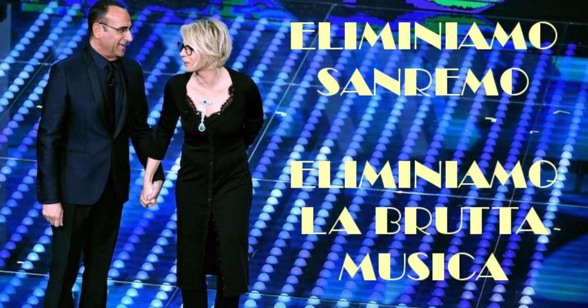 Eliminiamo Sanremo. Spreca soldi e produce brutta musica