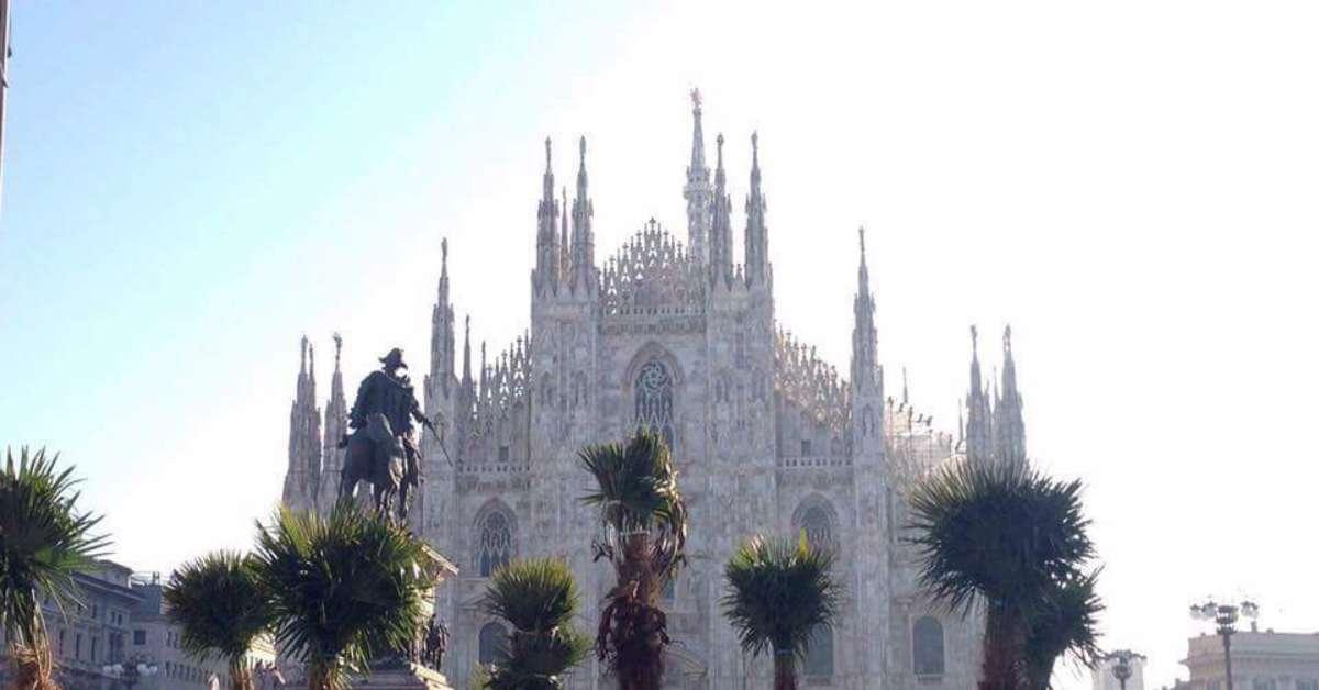 NO palme e banani in Piazza Duomo