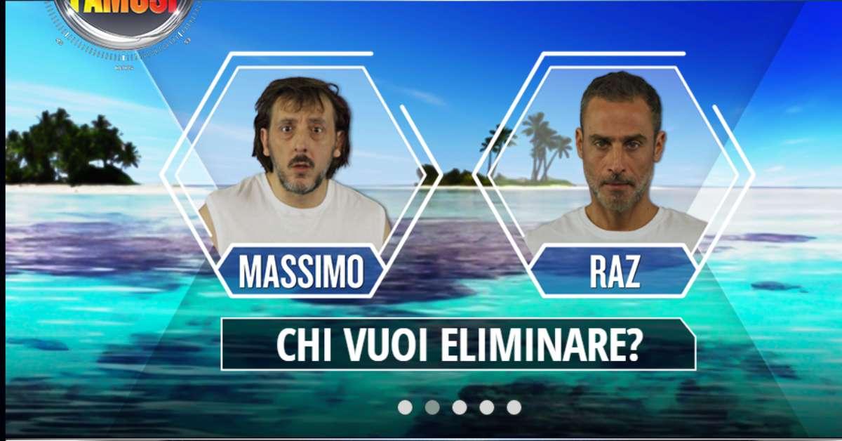 Annullamento televoto tra Raz Degan e Massimo Ceccherini