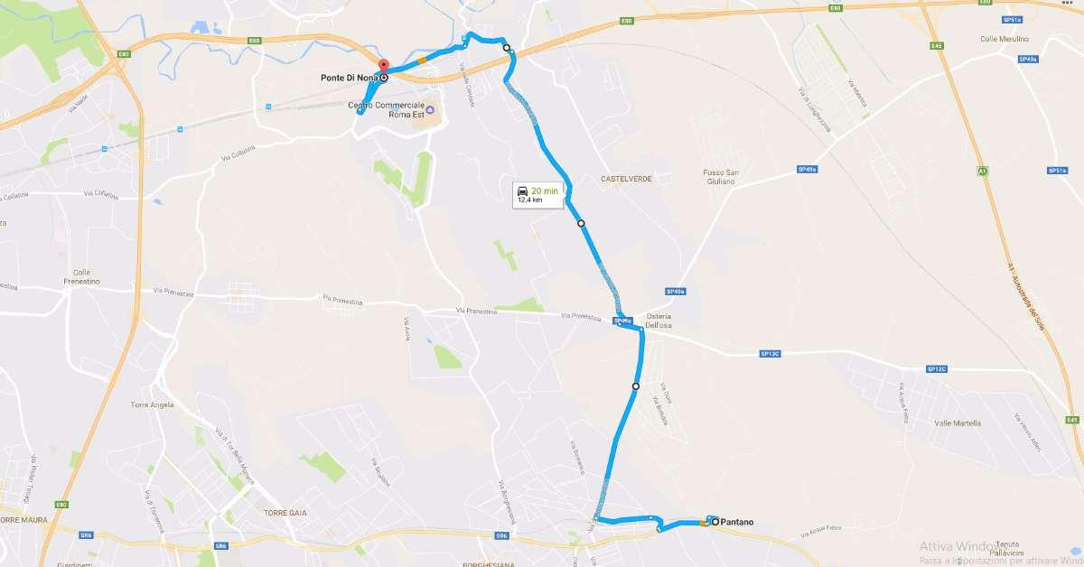 Chiediamo un autobus tra Villaggio Prenestino e Metro C