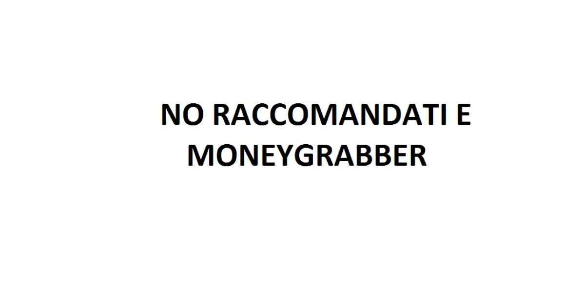 RACCOMANDATI E MONEYGRABBER SU YOUTUBE