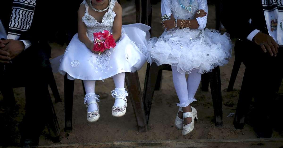 Mai più spose bambine!