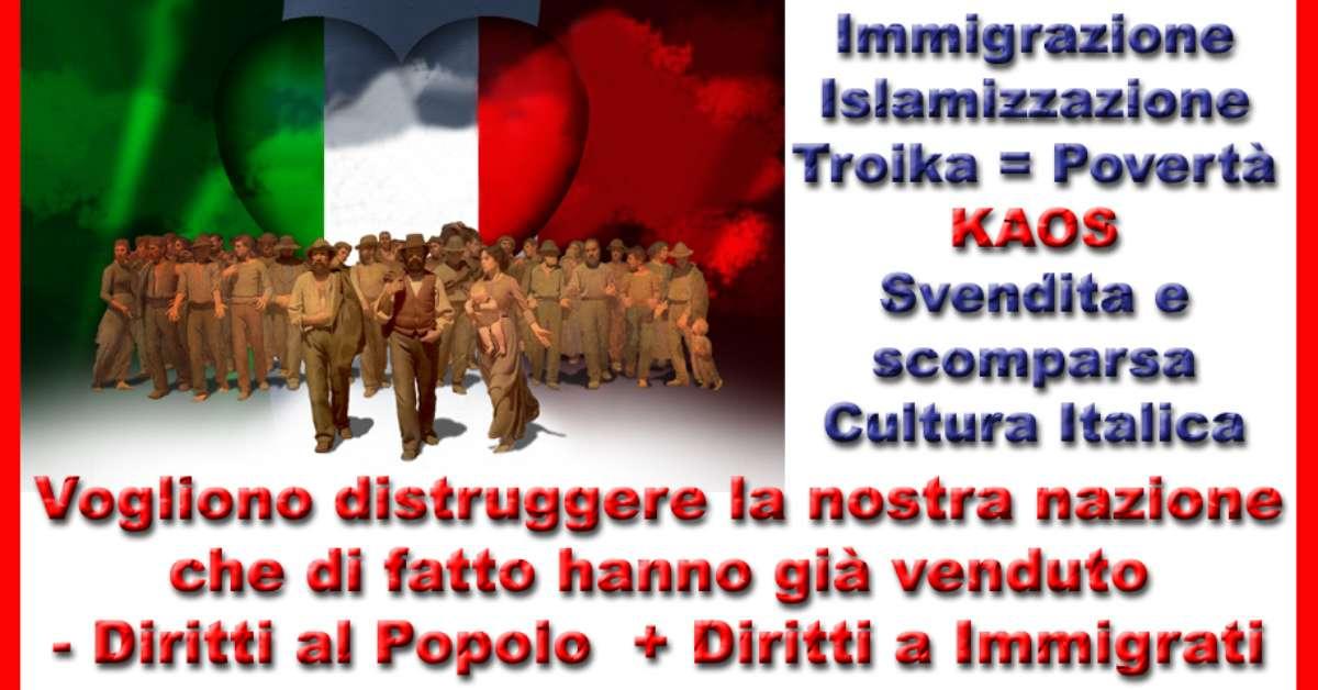Una Firma per la Sovranità Italiana.