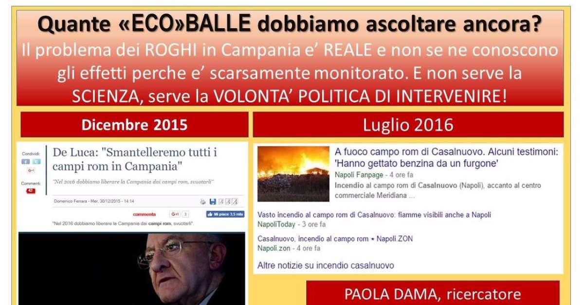 Terra dei Fuochi: Smantellare i Campi Rom in Campania