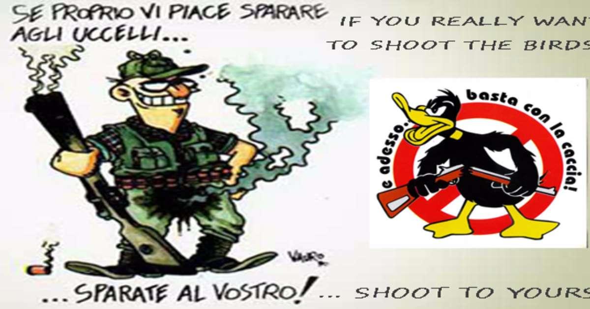 STOP ALLA CACCIA PER SEMPRE!!