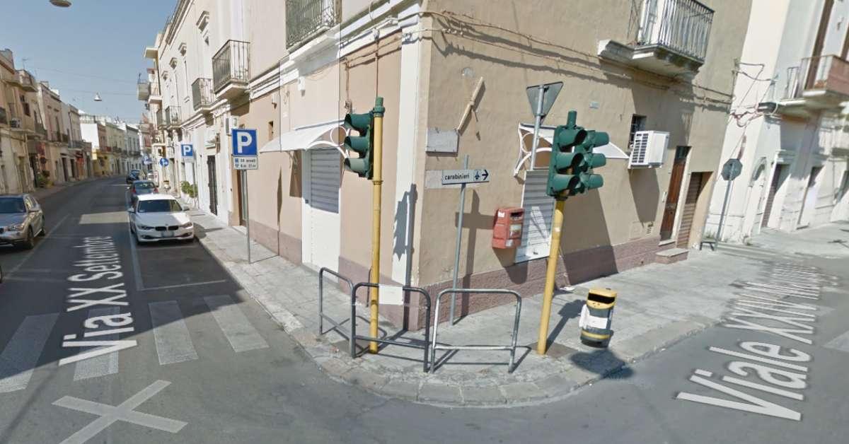 Ripristino impianti semaforici Via XX Settembre Galatone