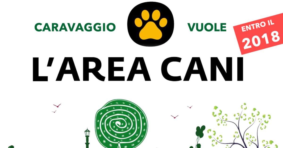 Caravaggio vuole l'AREA CANI