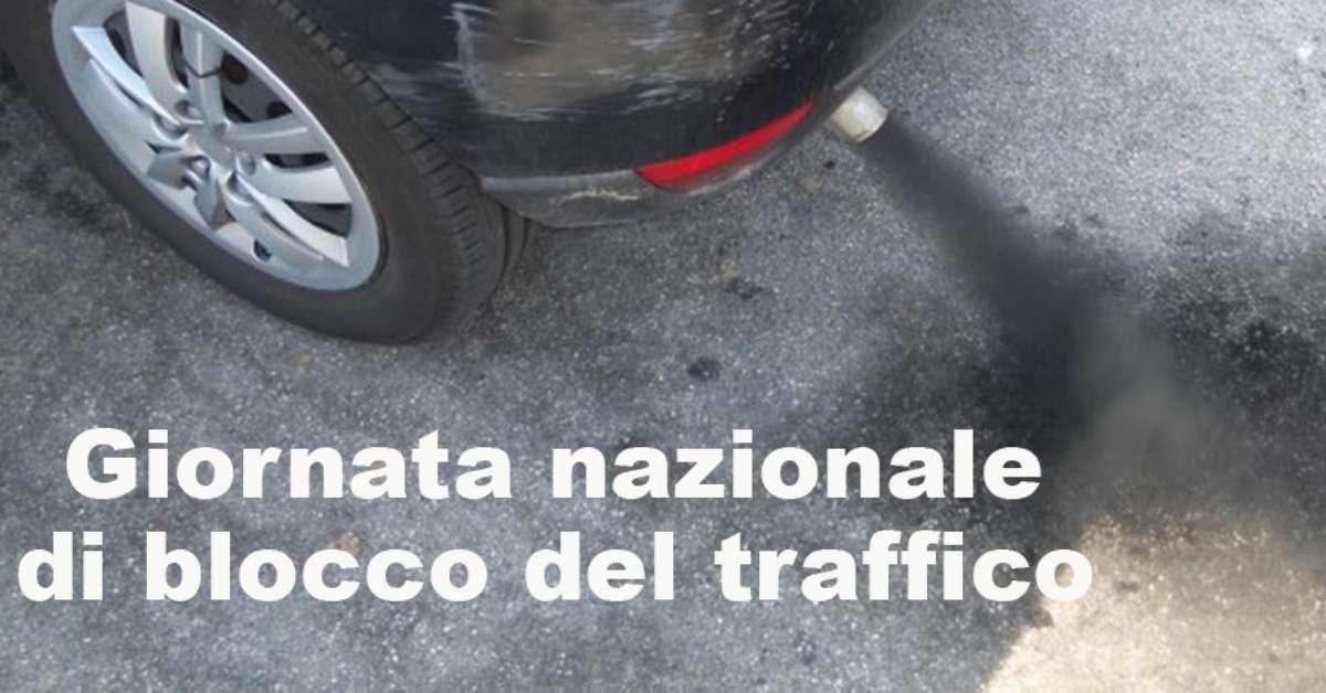 Giornata nazionale blocco delle Auto