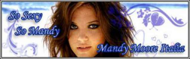 Mandy Moore in ITALIA