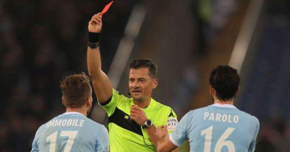 Arbitro Giacomelli via dalla FIGC