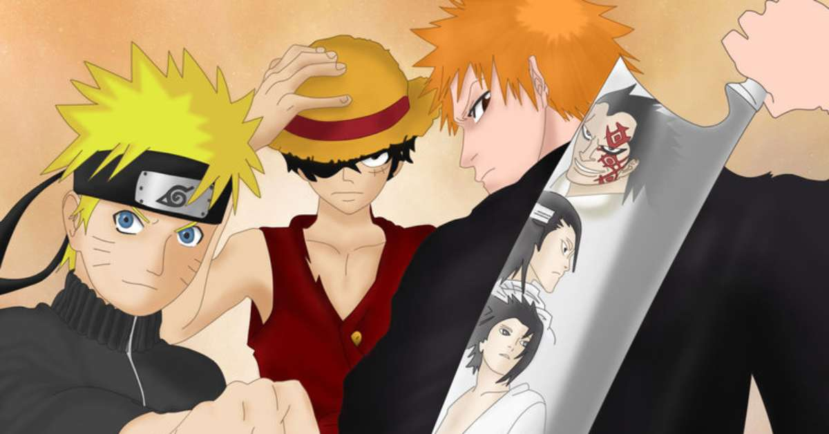 Bleach, One piece&Naruto Mediaset Sveglia!!