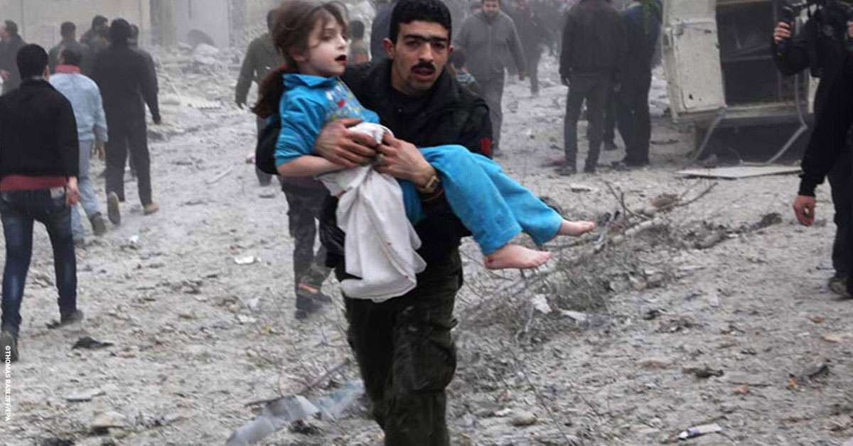 Siria: una guerra brutale