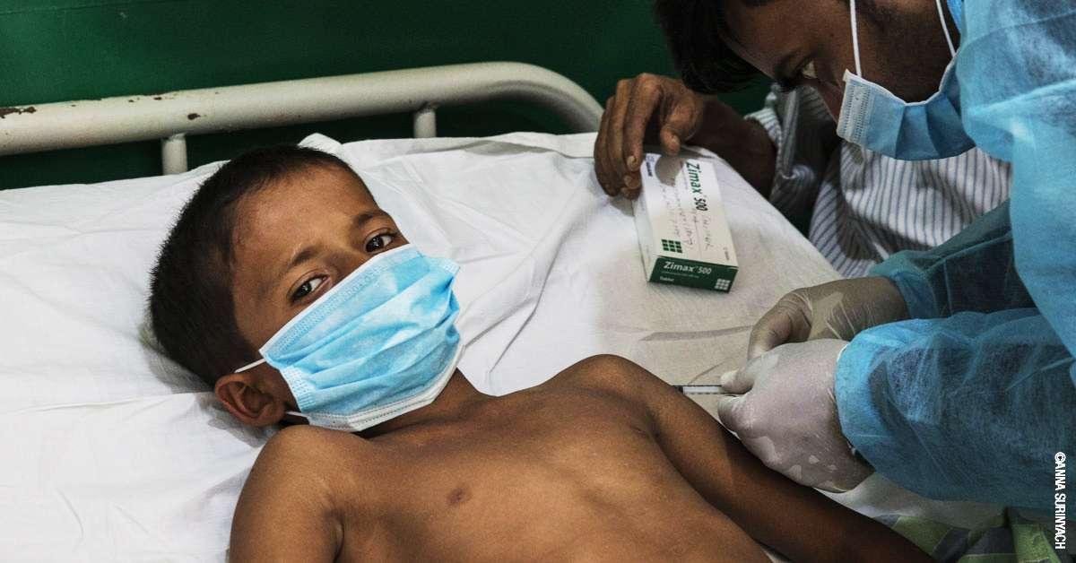 EMERGENZA ROHINGYA: servono cure mediche e acqua potabile