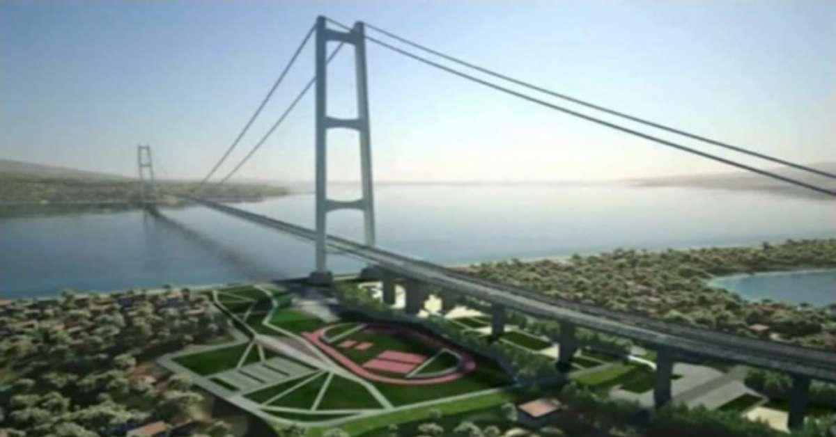 Il ponte sullo Stretto di Messina