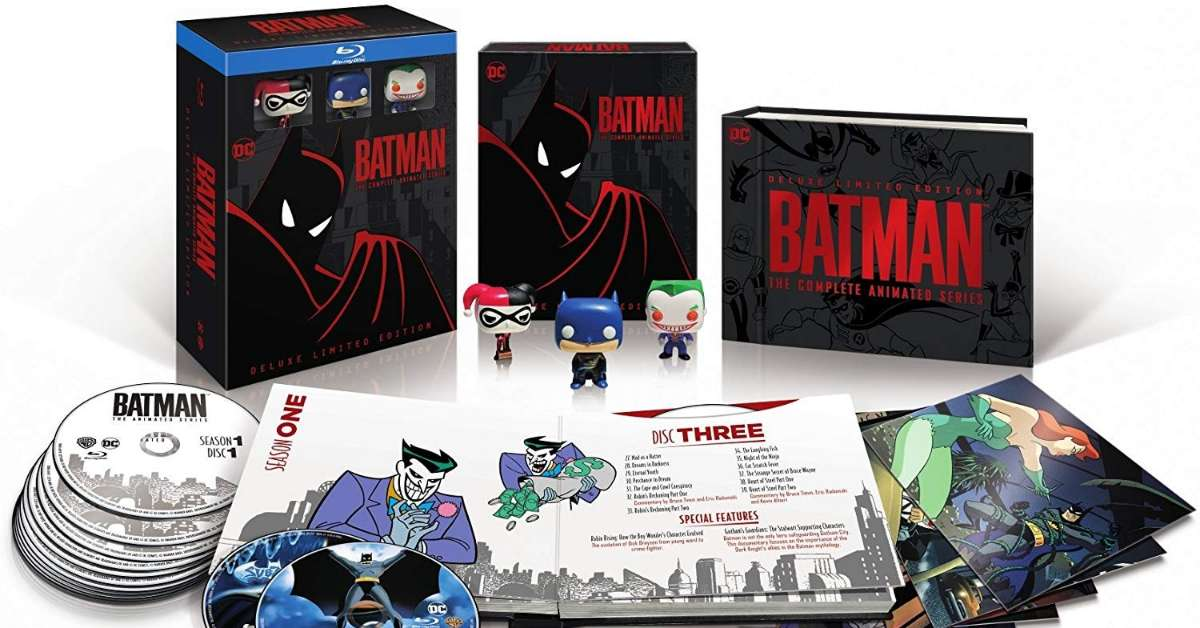 Batman The Complete AnimatedSeries Deluxe Limited Edition