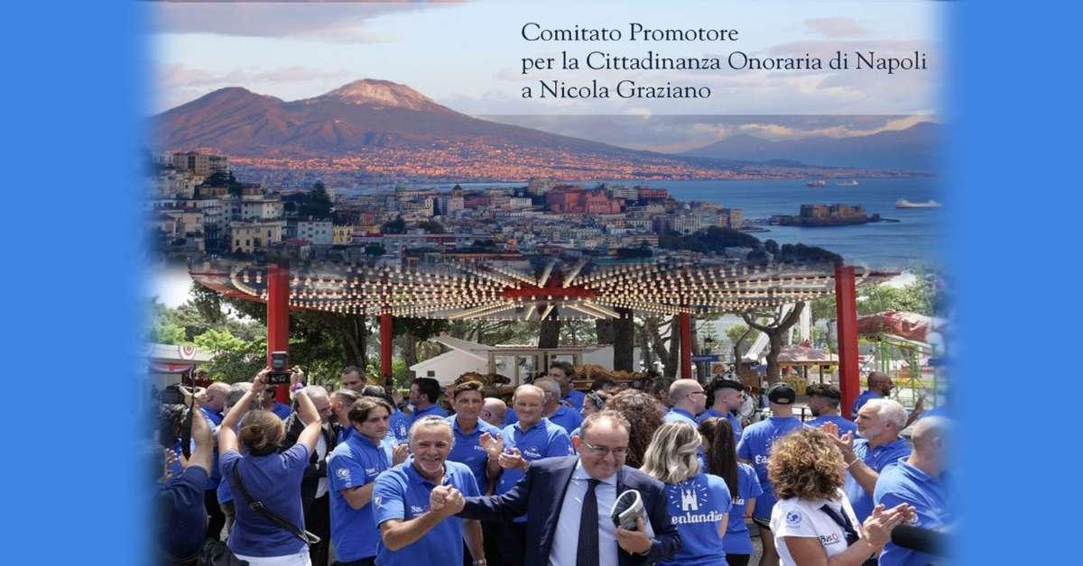 Cittadinanza Onoraria di Napoli a Nicola Graziano