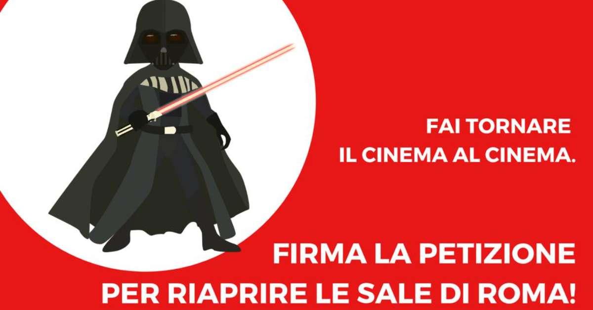 RIAPRIRE LE SALE CINEMATOGRAFICHE DI ROMA