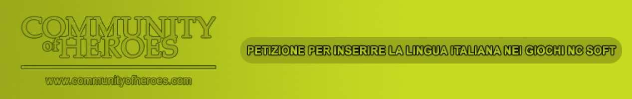 Lingua italiana negli mmorpg di NC Soft