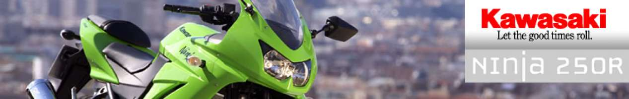 Gomma maggiorata per Ninja 250R