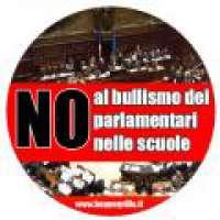 No al bullismo dei parlamentari nelle scuole