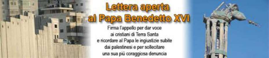 NON DIMENTICHI - Lettera a Benedetto XVI