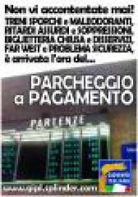 Una firma contro i parcheggi a pagamento alla Stazione di Latina