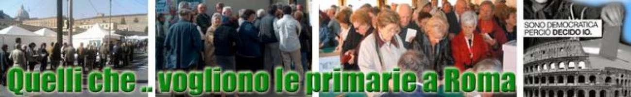Quelli che ... vogliono le primarie a Roma