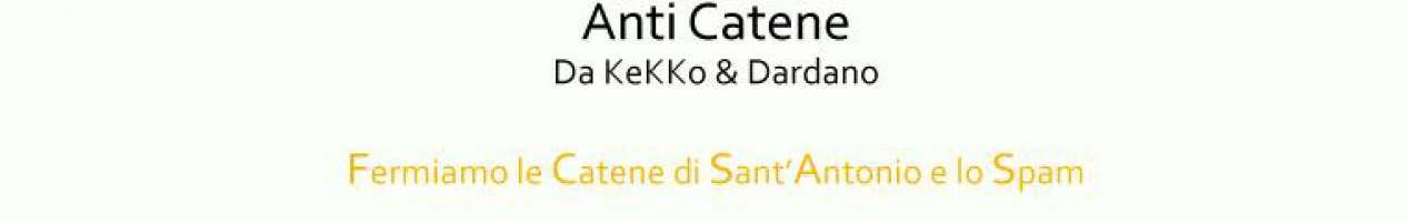 Fermare Le Catene Di Sant'Antonio