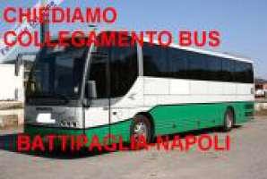 Pullman Battipaglia-Napoli per i lavoratori pendolari
