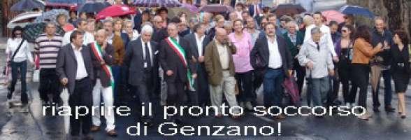 Riaprire subito il Pronto Soccorso dell'Ospedale di Genzano di Roma!