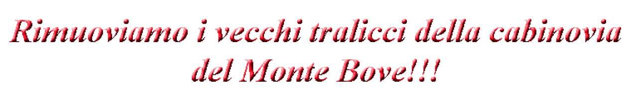 Tralicci di vecchie funivie/cabinovie sui Monti Sibillini. Una tristezza. Eliminiamoli!!