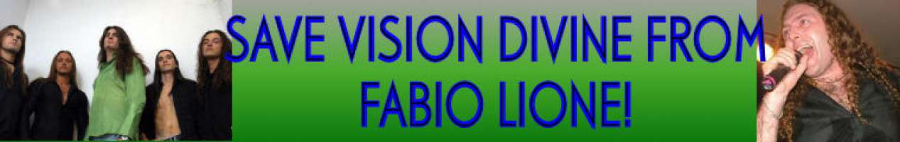 Save Vision Divine from Fabio Lione
